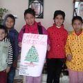 MERRY CHRISTMAS von unseren Kindern aus dem Mudita Heim
