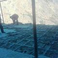 Resteabbau zum Wiederaufbau des 2. Gebäudes in Tatopani