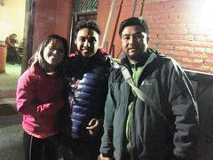 Meeting in Kathmandu mit Übergabe der Gehälter für Tatopani