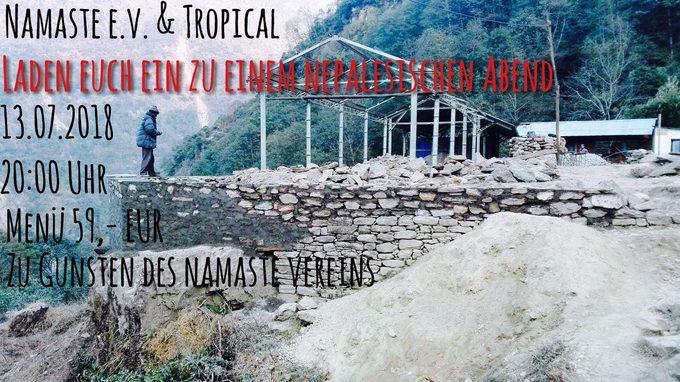 nepalesisches Charity Dinner im Tropical Traunstein