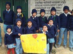 warme Sachen für bedürftige Kinder