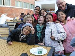 Das Treffen mit den Mudita Kids