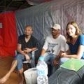 Besuch im Flüchtlingslager Thali