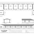 Der Bauplan und die Kalkulierung für die Aankura Schule