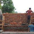 Die Baustelle Mitte April