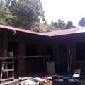 Das Dach ist fertig
