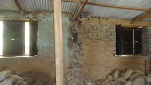 die Ruinen der Aankura Schule