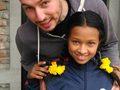 Spendenverteilung für die Aankura Kinder